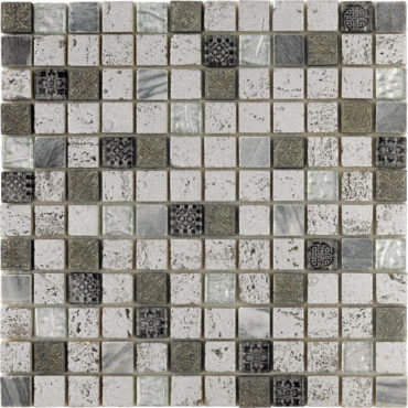 Mosaic Imperium Silver 30x30cm