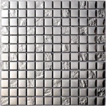 Mosaic Luxury Silver 30x30cm